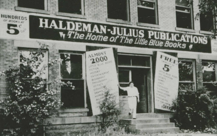 The Little Blue Books at 100: Haldeman-Julius's Revolutionary Publishing Venture - Tour of Girard Main Splash Image