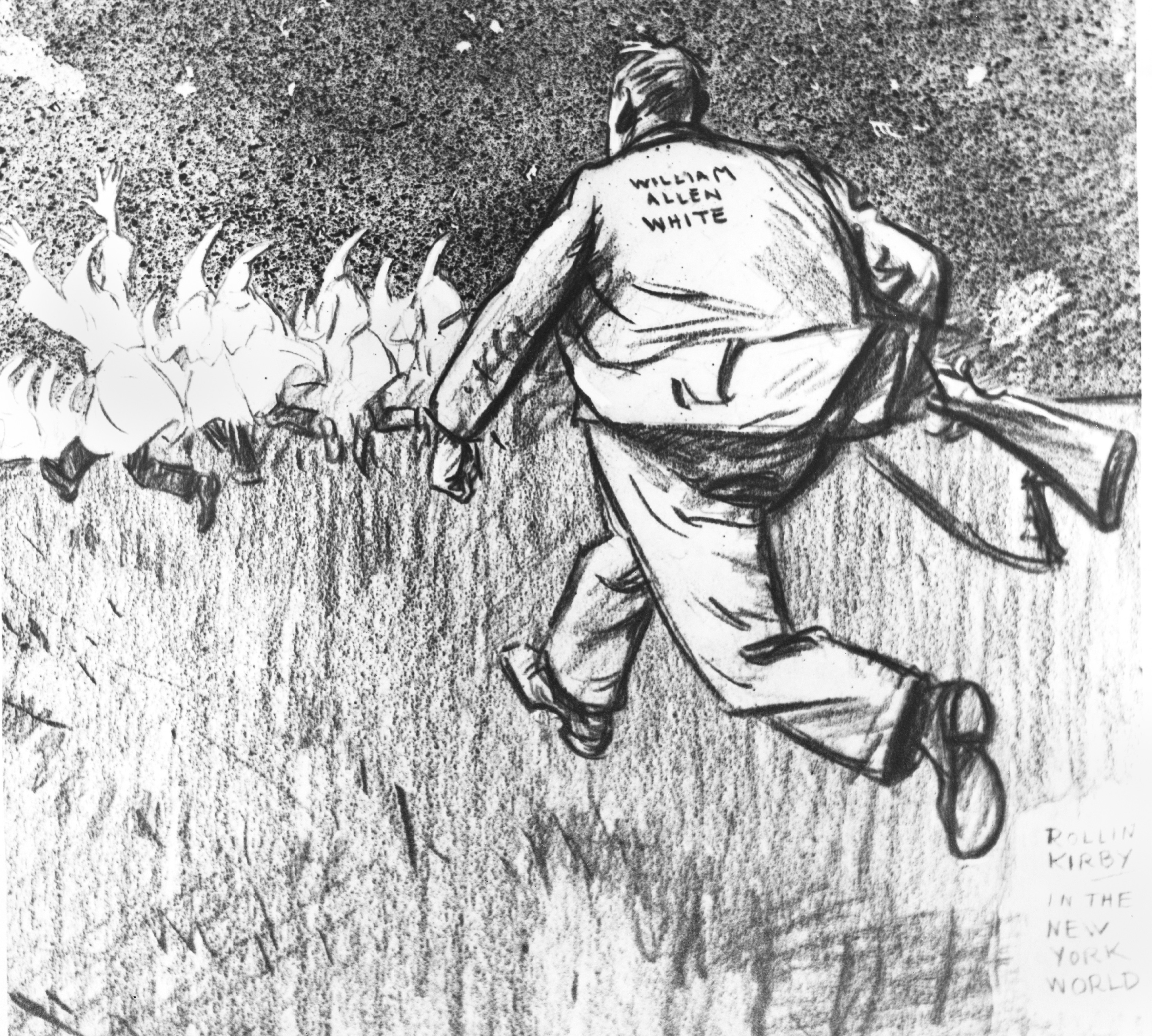 "William Allen White and the KKK in Kansas: ""A Real American Goes Hunting"" Main Splash Image"