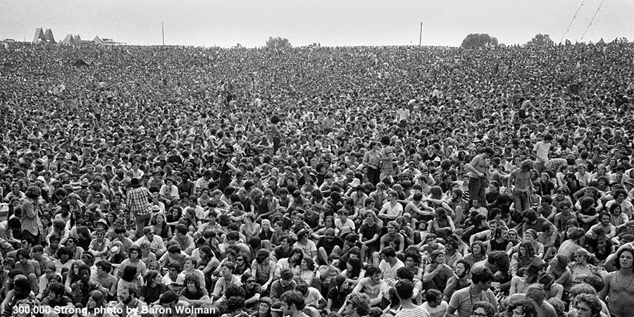 Back to the Garden: Photographs of the 1969 Woodstock Festival - Exhibit Opening Event Image