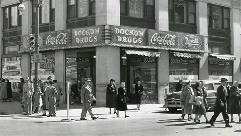 The Dockum Drugstore Sit-In image