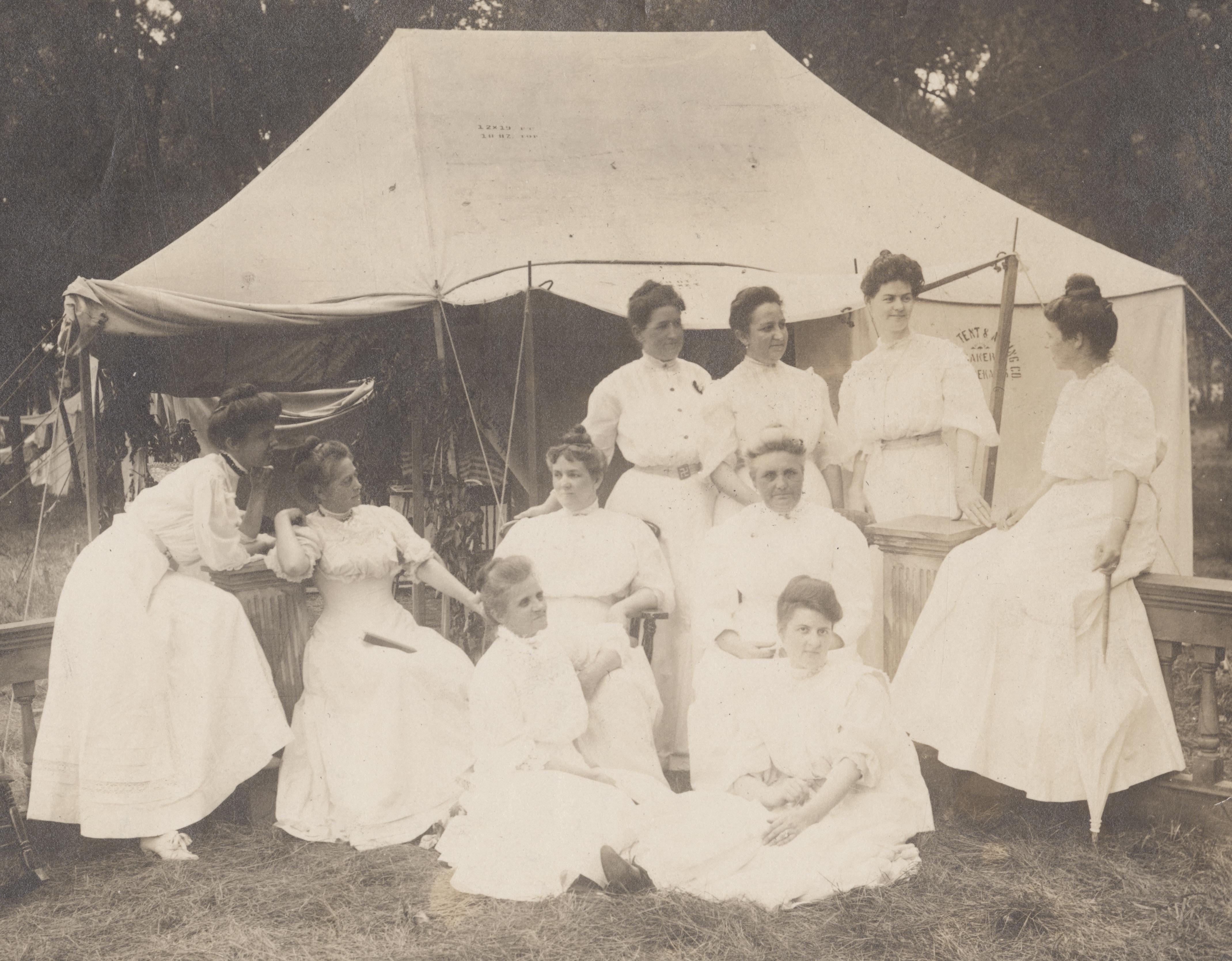 Online Program - Politics on the Platform: Woman Suffrage at the Chautauqua Event Image