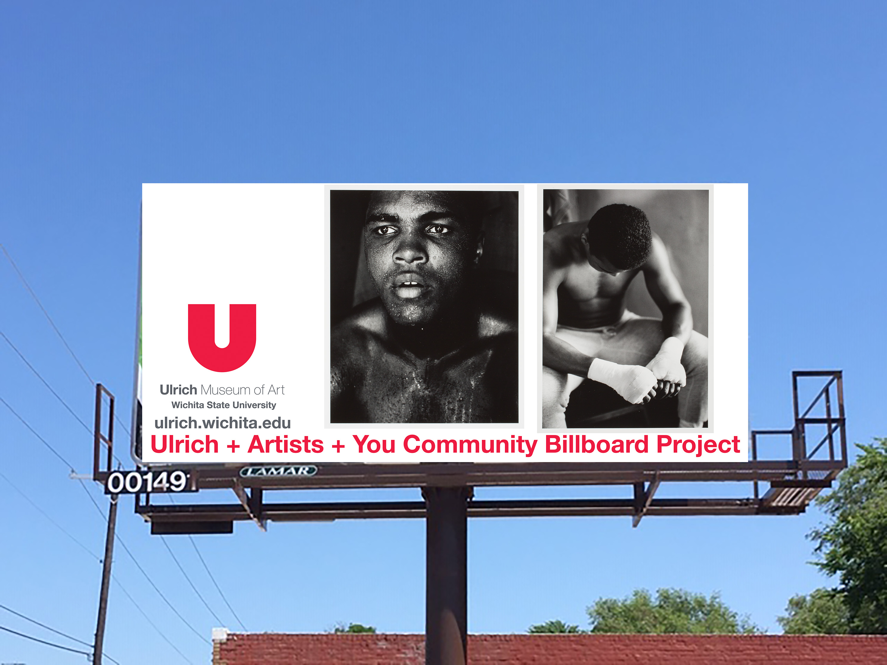 Ulrich + Artists + You Community Billboard Project Main Splash Image