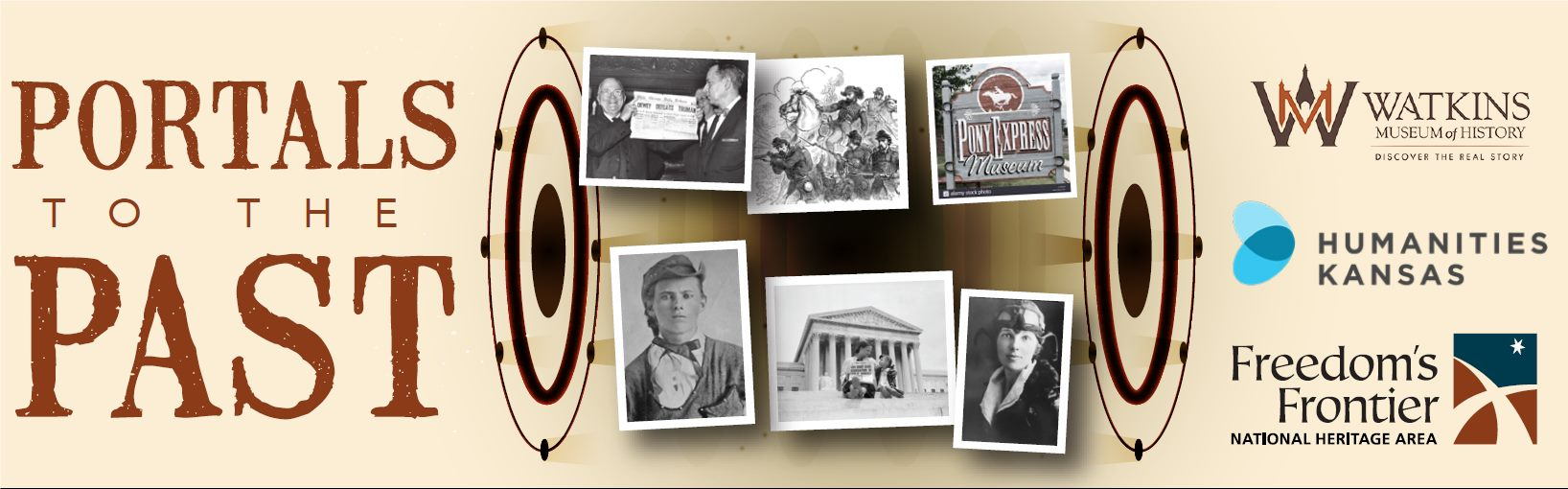 Online Program - Meet Amelia Earhart: A Portals to the Past Event image