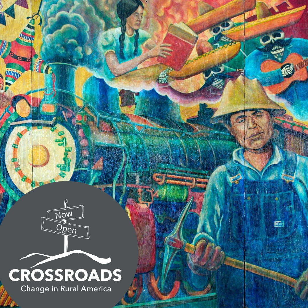 """Crossroads: Change in Rural America"" Smithsonian Traveling Exhibition Main Splash Image"