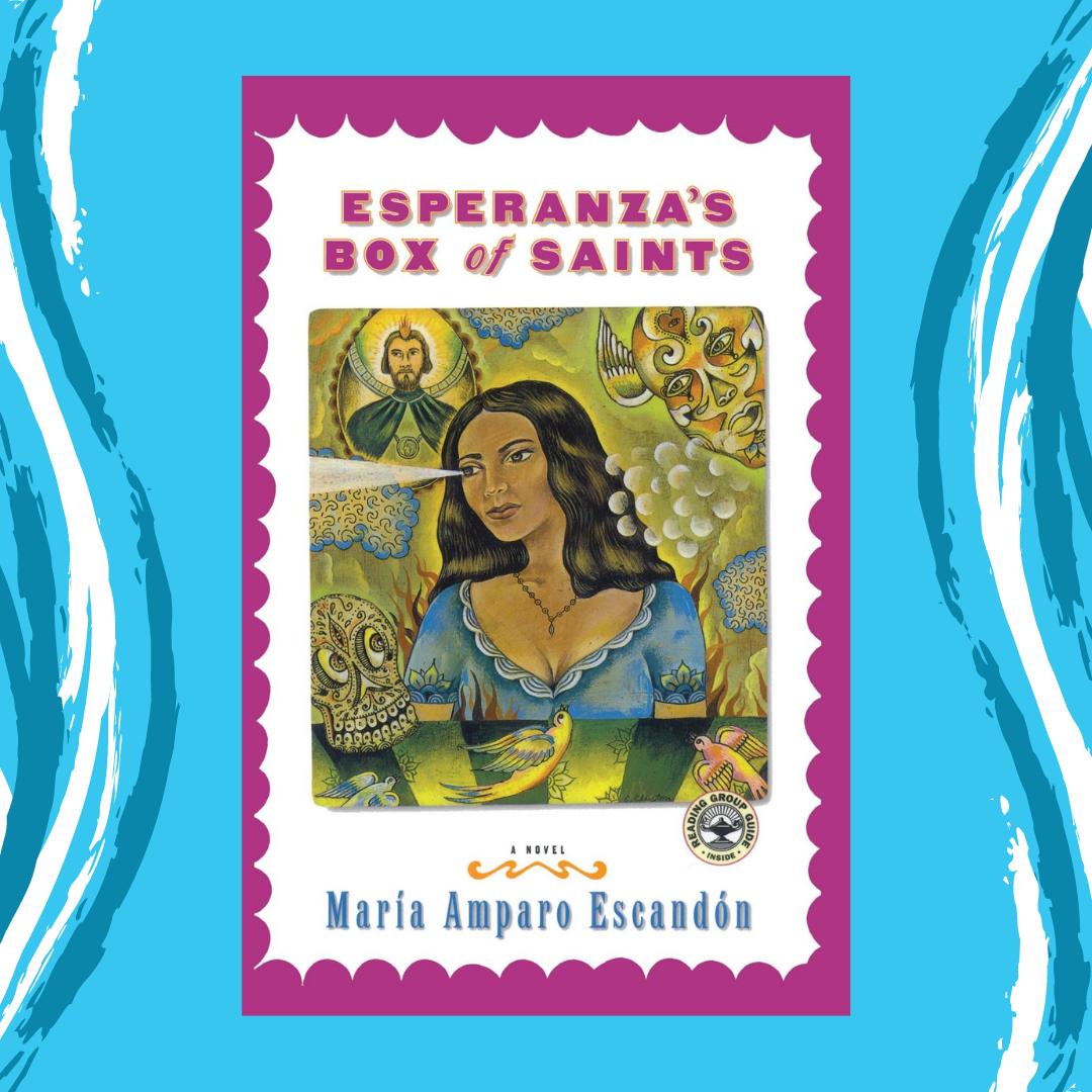 221108TK - Esperanza's Box of Saints by Maria Amparo Escandon Event Image