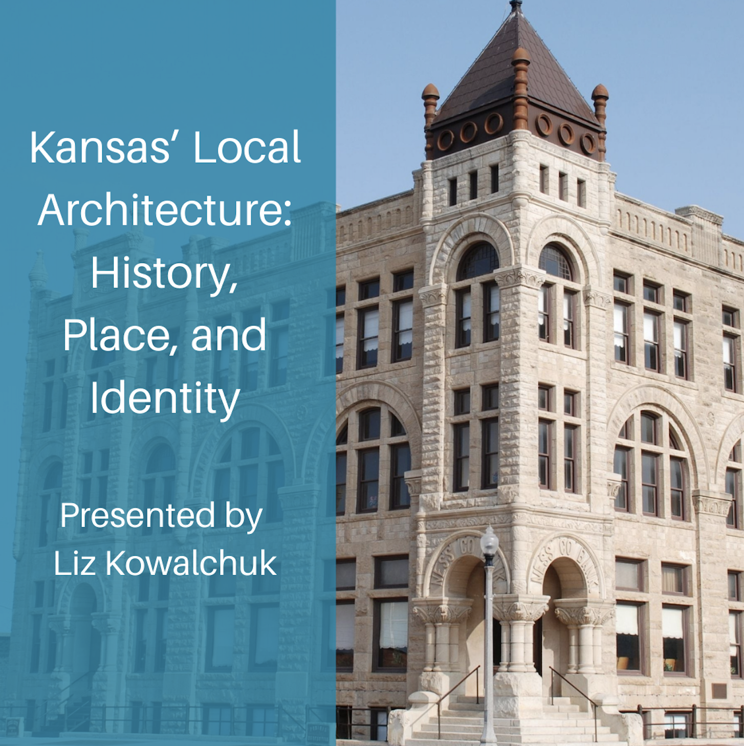 Kansas' Local Architecture: History, Place, and Identity Event Image