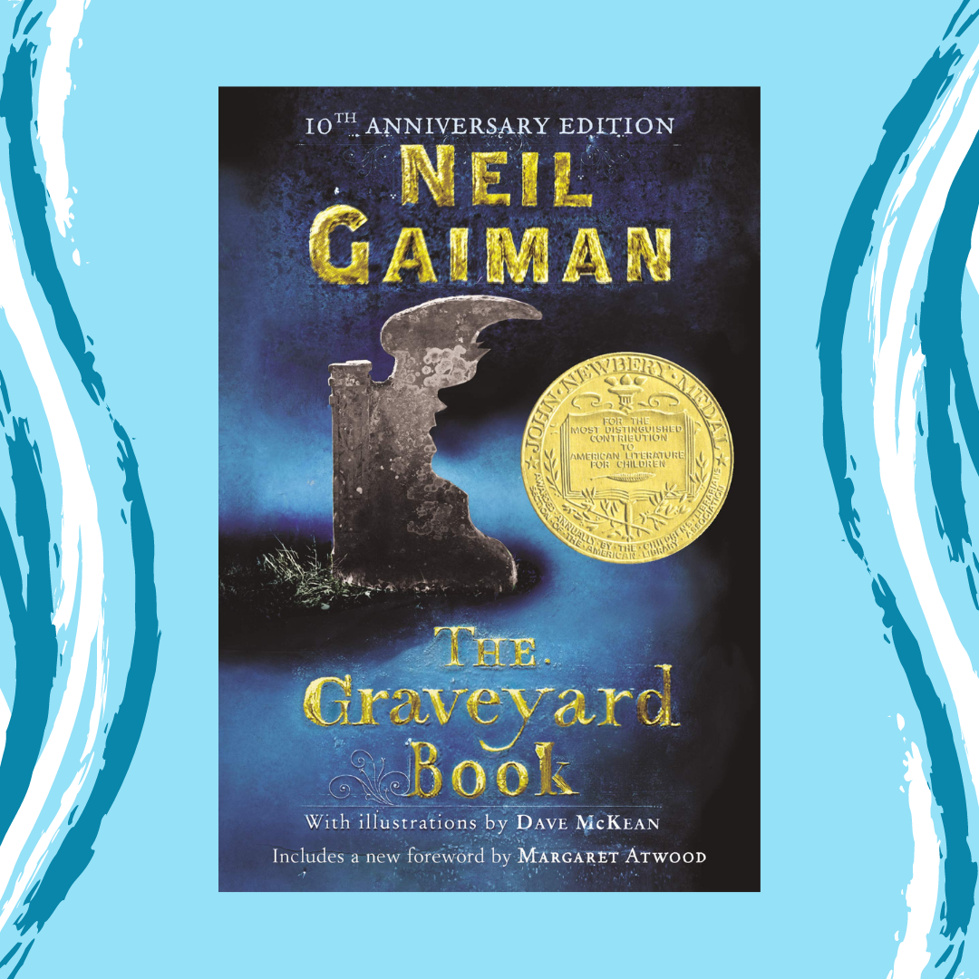 The Graveyard Book by Neil Gaiman Main Splash Image