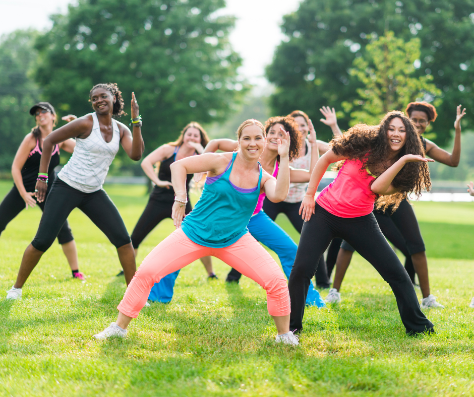 Crossroads Zumba in Steever Park Event Image