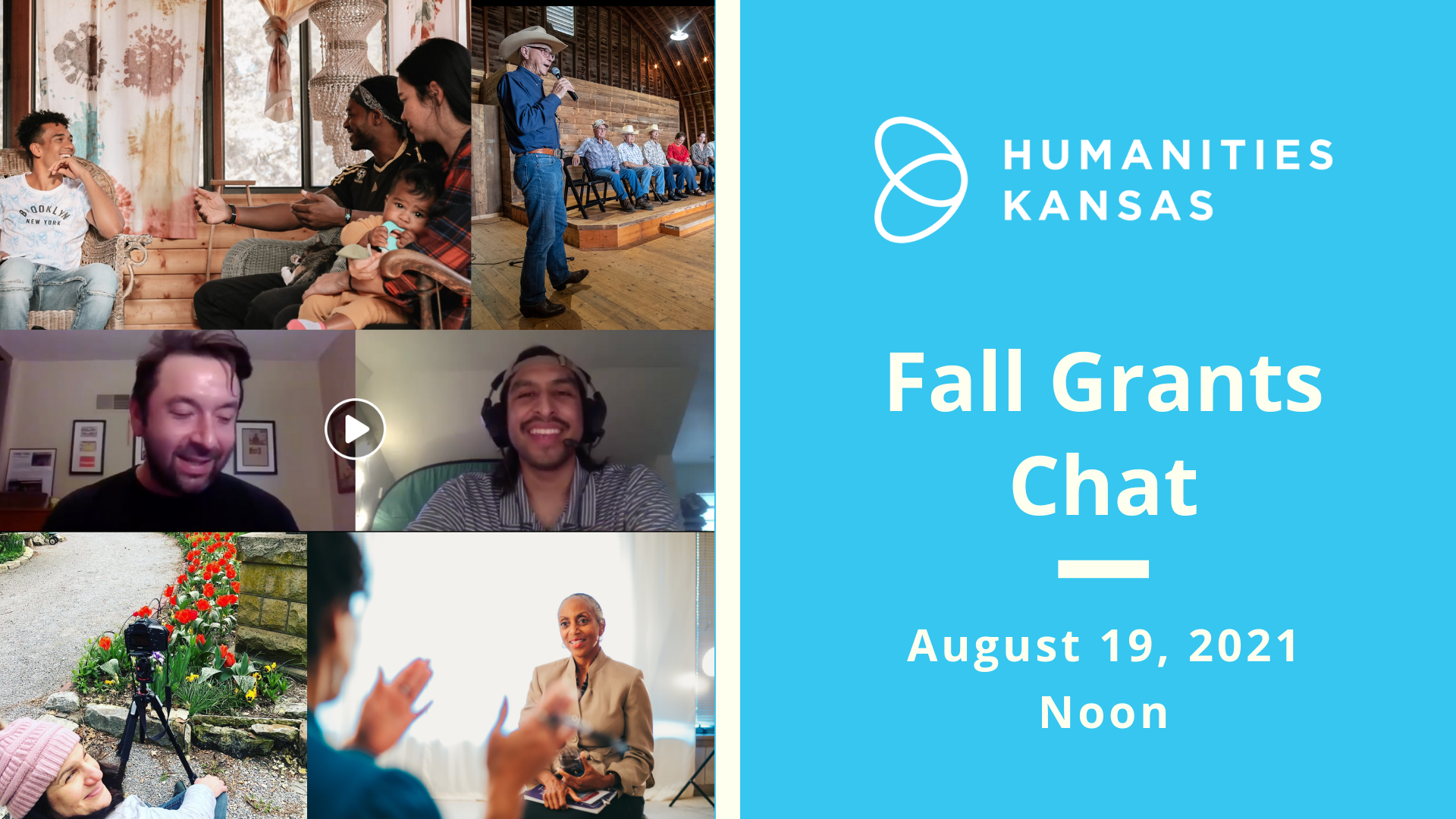 Fall Grants Chat Event Image